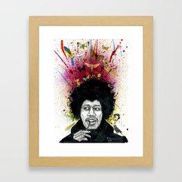 Voodoo mind Framed Art Print