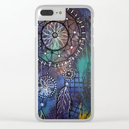 Catching Colorful Dreams Clear iPhone Case