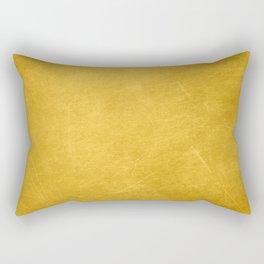 Sunshine Gold Rectangular Pillow