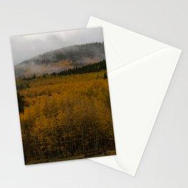 Fog over Kenosha Pass Stationery Cards