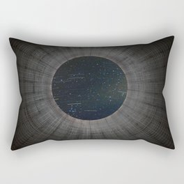 Looking up a Nuclear Cooling Tower Rectangular Pillow