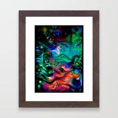 SeaOfUniverses Framed Art Print