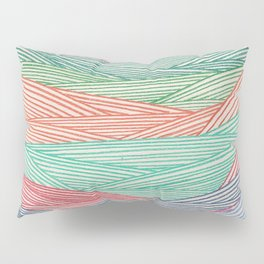 Color Filled In  Pillow Sham