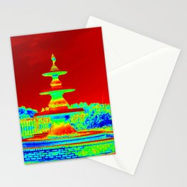 Colorful Fountain Stationery Cards