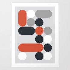 Domino 03 Art Print