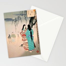 Mizuno Toshikata - Top Quality Art - Prostitute #3 Stationery Cards