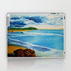 Cloudy Beach Laptop & iPad Skin