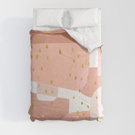 Conglomeration in Pink Comforters