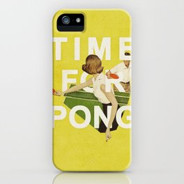 Time For Pong iPhone Case