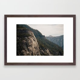 To The Mountains Framed Art Print