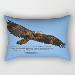 Soaring High!  -  Immature Rectangular Pillow