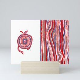 Apple Lines Mini Art Print