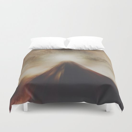 The mountains we climb Duvet Cover
