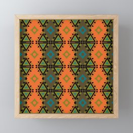 Indian Designs 76 Framed Mini Art Print