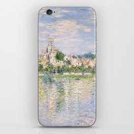 Vetheuil in Summer 1880 by Claude Monet iPhone Skin