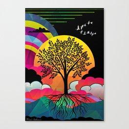 tree Canvas Print