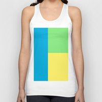 pantone Tank Tops featuring Pantone colour by StevenARTify