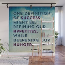 Definition of Success Wall Mural