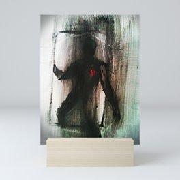 Shadow man (Doorman) Mini Art Print