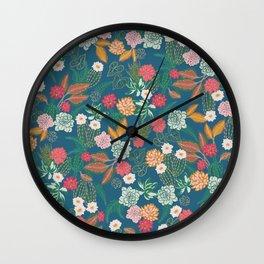 Succulent succulents Wall Clock