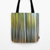 blur Tote Bags featuring Blur by Angela King-Jones