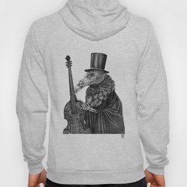 Vulture Double Bass by Pia Tham Hoody