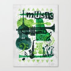 Music Jam Canvas Print