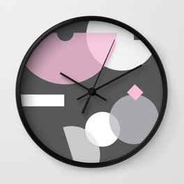 Geometric Calendar - Day 35 Wall Clock