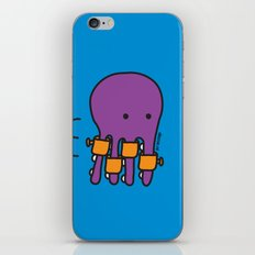Swimming Octopus iPhone & iPod Skin