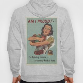 Vintage poster - Am I Proud? Hoody