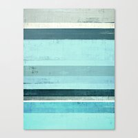 salt water Canvas Prints featuring Salt Water by T30 Gallery