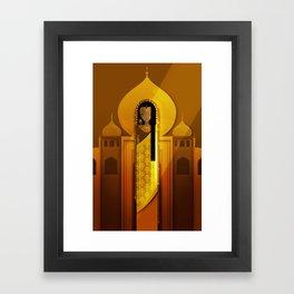 Ladies of Culture Series: India Framed Art Print