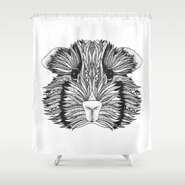 Peruvian guinea pig Shower Curtain