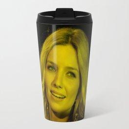 Annabelle Wallis - Celebrity (Florescent Color Technique) Travel Mug