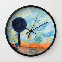 Les envahisseurs / The invaders Wall Clock