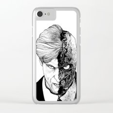 TwoFace Clear iPhone Case