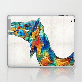Colorful Camel Art By Sharon Cummings Laptop & iPad Skin