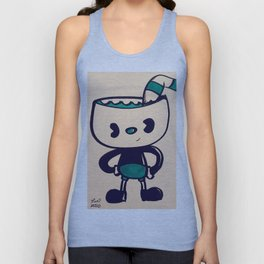 Cup Guy Unisex Tank Top