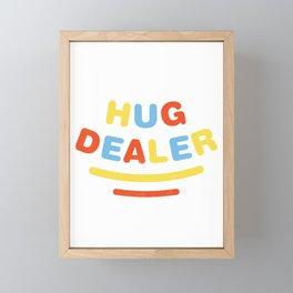 Hug Dealer Framed Mini Art Print
