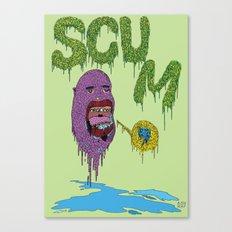 Scum Canvas Print