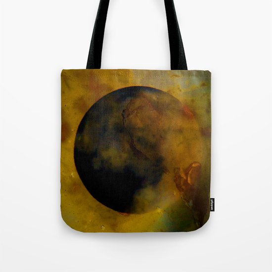 Abstract Moon Tote Bag