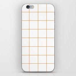WINDOWPANE ((tangerine)) iPhone Skin