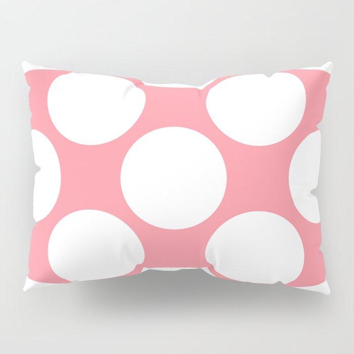 Polka Dots Pink Pillow Sham
