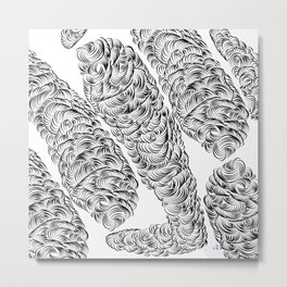 Amazing Storm - Basic Metal Print