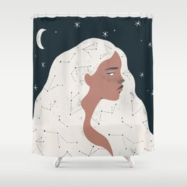 keeper of stars Shower Curtain