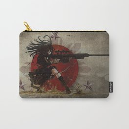 3stars and the rising sun tzu sniper_diva of death Carry-All Pouch
