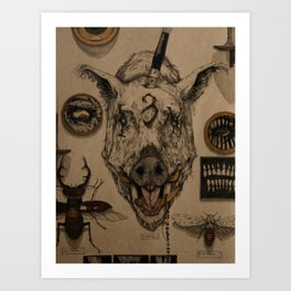 SADIST WHORE Art Print