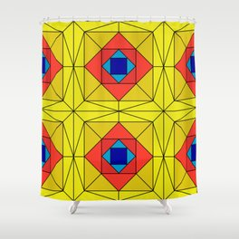 Suspiria Stained Glass Shower Curtain