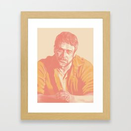 Azazel. John Winchester Framed Art Print
