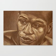 round 3...floyd mayweather jr Canvas Print